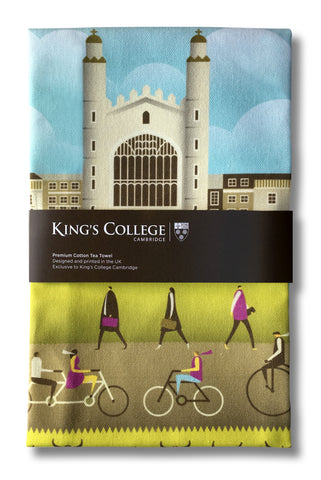 King's Life Summer Tea Towel