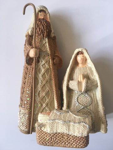 Mary and Joseph nativity scene