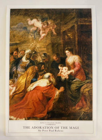Rubens' Adoration of the Magi Postcard