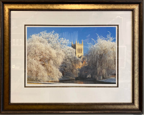 Large Framed Cambridge Portfolio Print