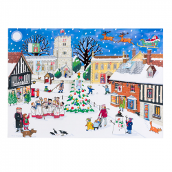 Advent Calendar Christmas in the Village
