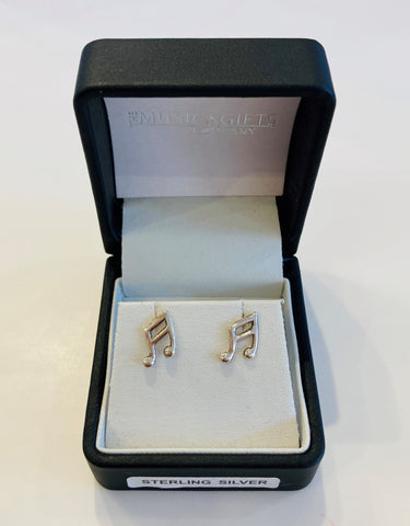 Sterling Silver Quavers Earrings