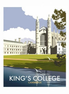 Star Editions Tea Towel - King's College
