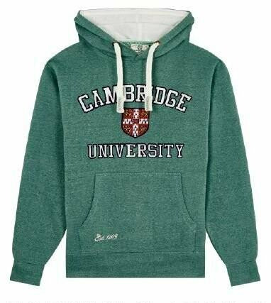 Cambridge University Emblem Hoodie - Adult