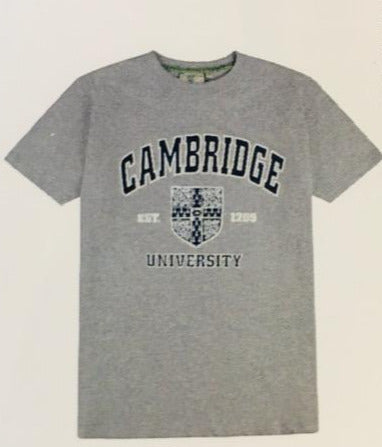 Cambridge University Crest T-Shirt - Adult