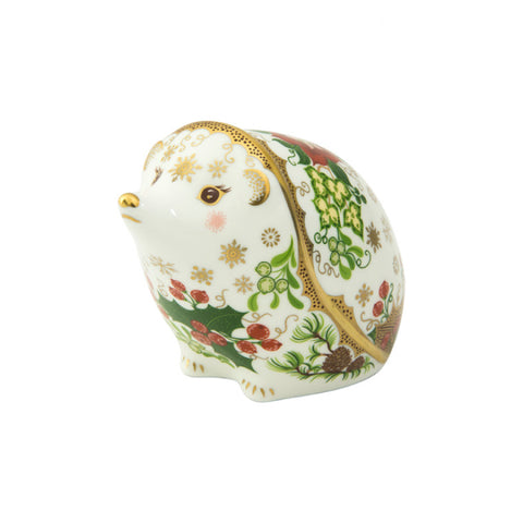 Royal Crown Derby: Christmas Hedgehog