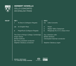 Howells: Cello Concerto & An English Mass