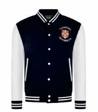 Cambridge University Baseball Jacket - Adult