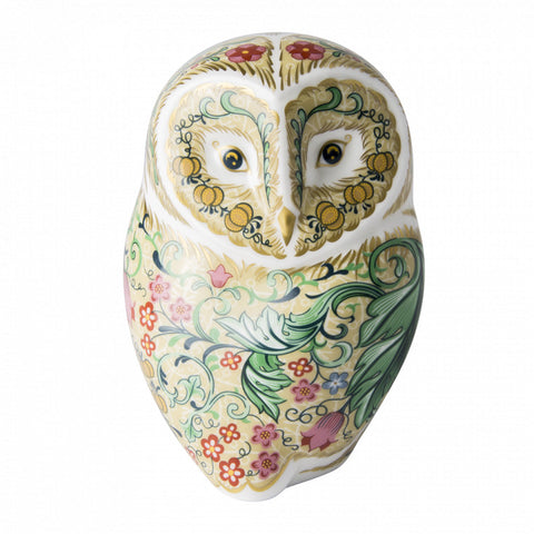 Royal Crown Derby: Parchment Owl