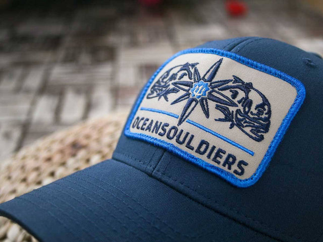 Original Truckers - OSC-Captain -  Embroidery Patch