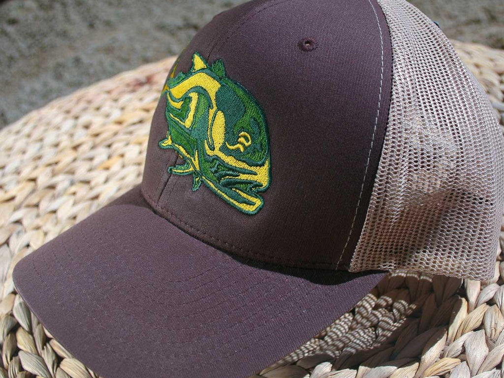 Original Truckers -  Embroidery Patch -  OSC-Caranx Trucker