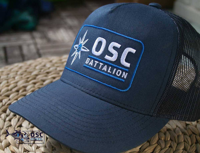 Trucker Caps - Embroidery - Truckers -  OSCBattalion