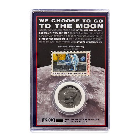Coin and Stamp set | Lunar Landing