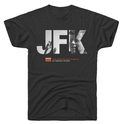 JFK Waving T-Shirt in Adult sizes