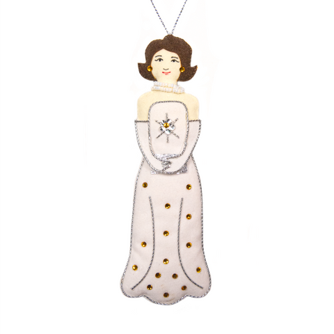 Gala Jackie Kennedy Ornament from St. Nicolas