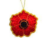 Poppy Ornament