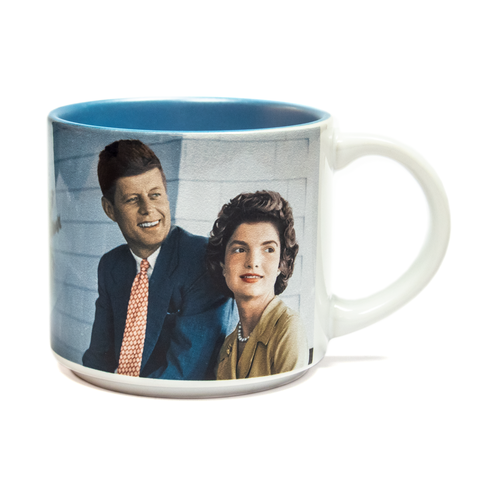 JFK and Jackie mug