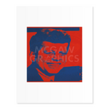Andy Warhol | FLASH-NOVEMBER 22, 1963, 1968 (RED & BLUE)