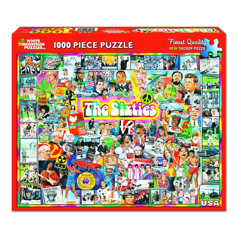 The Sixties | 1000 Piece Puzzle