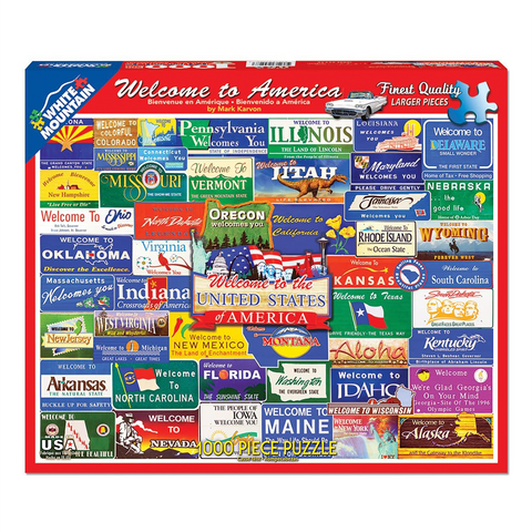 Welcome to America | 1000 Piece Puzzle