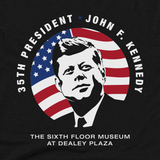 35th President John F. Kennedy T-Shirt in Adult and Youth sizes