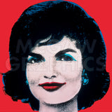 Andy Warhol | JACKIE, 1964 (ON RED)