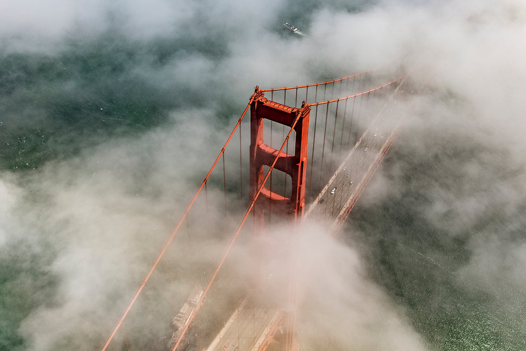 The Golden Gate Emerges, 2016