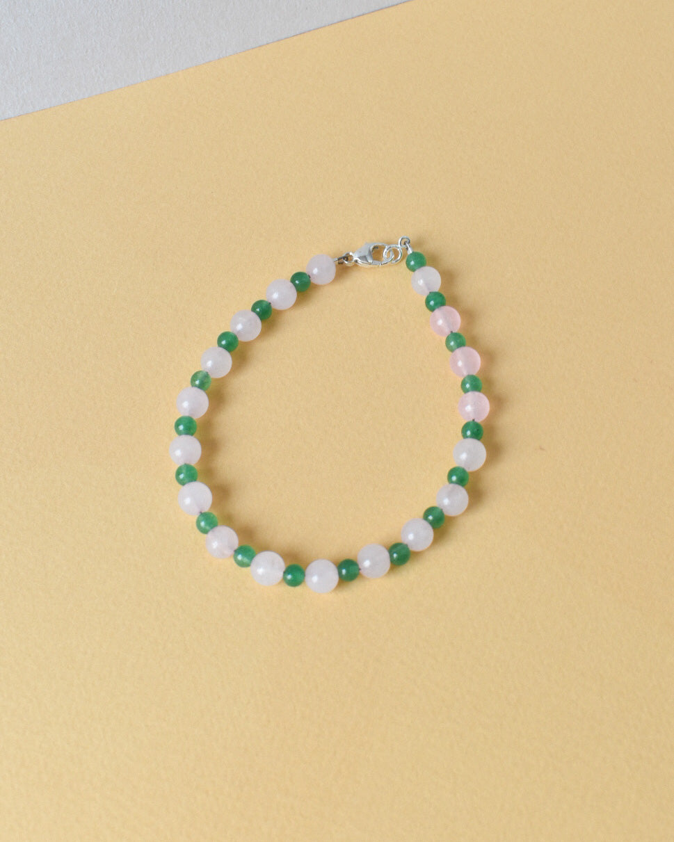 Sweet Pea Bead Party Anklet
