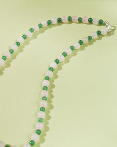 Sweet Pea Bead Party Necklace