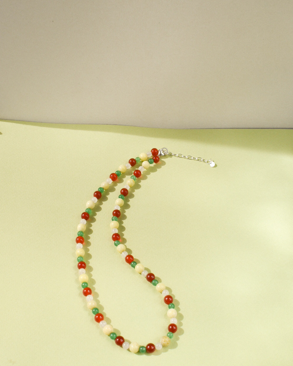 Trifle Bead Party Necklace