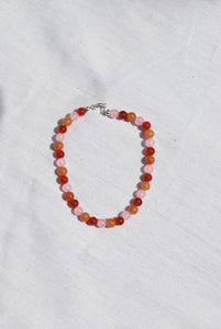 Sunrise Bead Party Anklet
