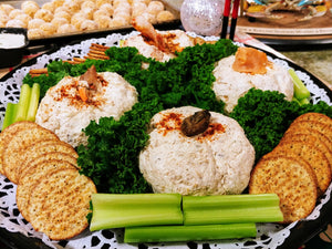 Seafood Cheese Ball Platter