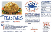 Load image into Gallery viewer, 5 oz Classic Crab Cakes