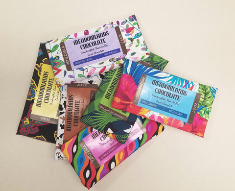 Variety Sampler Pack - Chocolate Bars in All Six Varieties - 2.5-oz. Bars