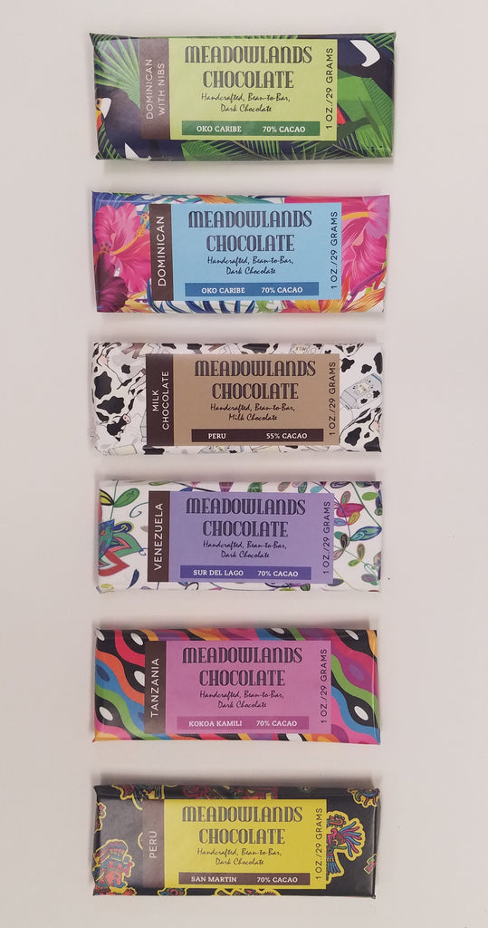 Six Chocolate Bars in Any Combination - 1-oz. Bars