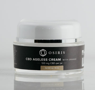 Osiris CBD Ageless Cream with Orange