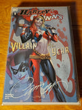 Harley Quinn: Villain of the Year #1 Exclusive J Scott Campbell Variant A NM Signed