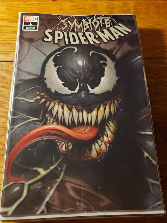 SYMBIOTE SPIDER-MAN #1 RYAN BROWN Exclusive Variant Cover A NM