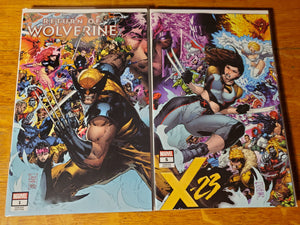 RETURN OF WOLVERINE #1 / X-23 #5 CONNECTING COVER PHILIP TAN NM