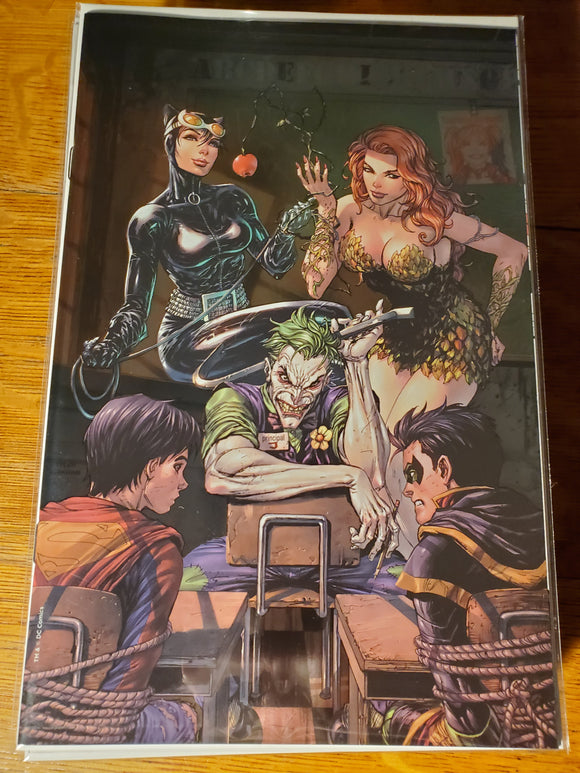Super Sons #1 Tyler Kirkham Unknown FOIL Virgin Variant DC NM