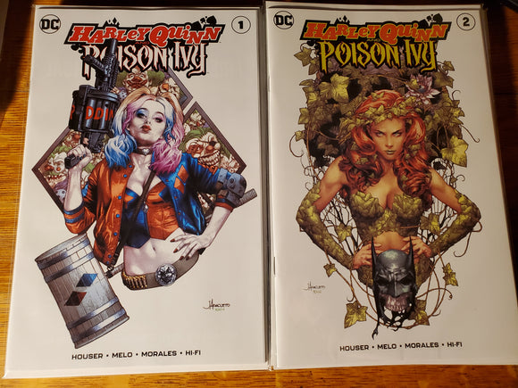 Harley Quinn and Poison Ivy #1 & #2 Anacleto Variant DC NM trade dress