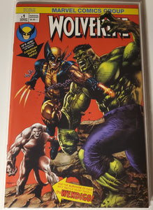 Return of Wolverine #1 - Mico Suayan Incredible Hulk #181 Homage NYCC Variant NM