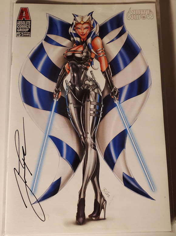 White Widow #5 The Apprentice Cosplay Exclusive Variant Signed W/COA (2021) NM