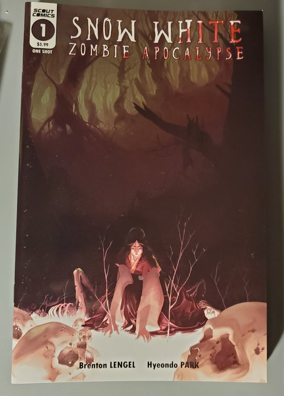 Snow White Zombie Apocalypse #1 (One Shot) Comic Book 2019 - Scout Comics NM