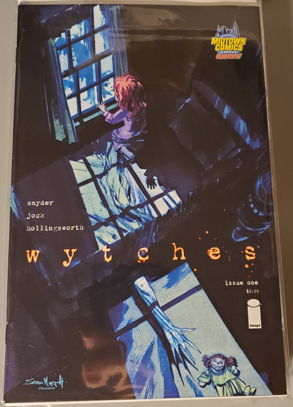 Wytches Comic #1 (Image, 8 Oct 2014, Midtown Comics Exclusive Variant Cover C) nm