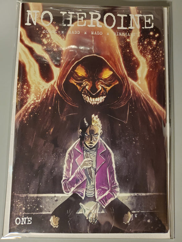 No Heroine #1 Templesmith Incentive w/ Mylar Bag and Board 9.4 NM
