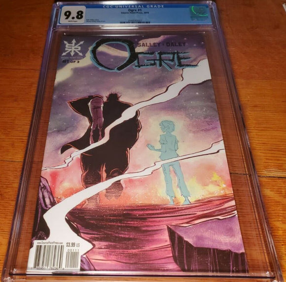 OGRE #1 CGC 9.8 Source Point Press 1st print Shawn Daley Cover