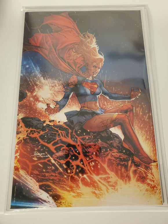 DCeased #2: Jay Anacleto Supergirl Virgin Variant Cover Edition NM