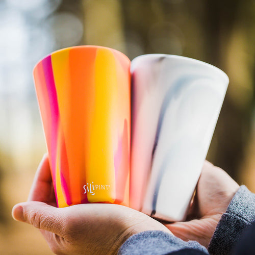 unbreakable, silicone drinkware