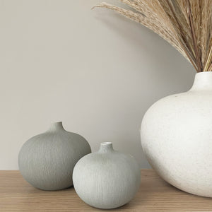 NATUR Light Grey Vase PRICE AND COCO I